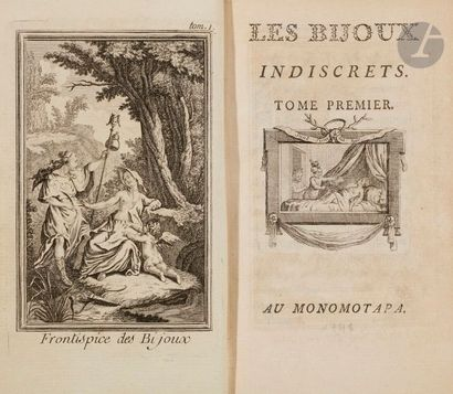 [DIDEROT (Denis)]. Les Bijoux indiscrets....