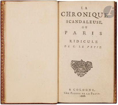 LE PETIT (Claude). La Chronique scandaleuse,...