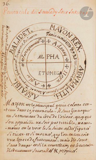 [MANUSCRIT]. Les Clavicules De Rabi Salomon...