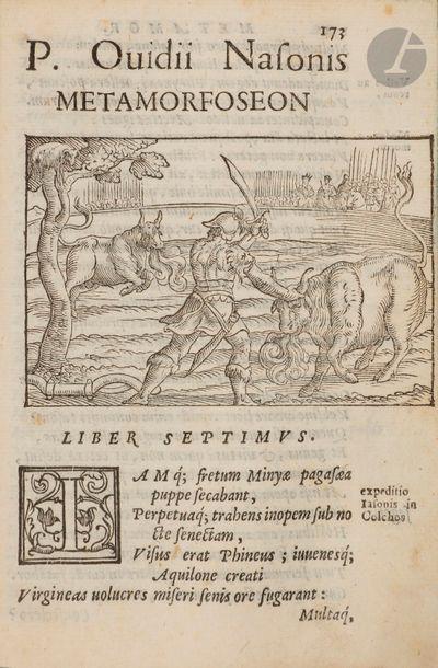 OVIDE. Metamorphoseon libri XV. In quibus...