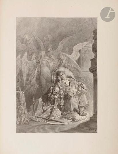 DORÉ (Gustave) - POE (Edgar Allan). The Raven....