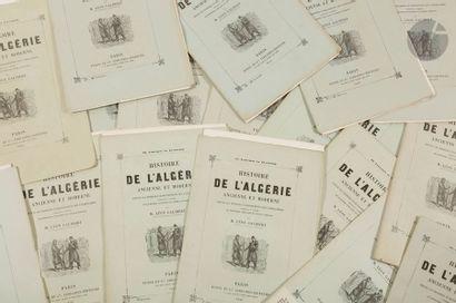 GALIBERT (Léon). Histoire de l'Algérie ancienne...