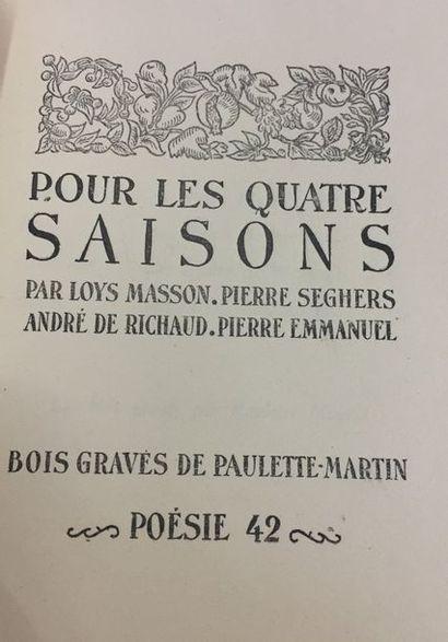 André de RICHAUD et al. Pour les quatre saisons...