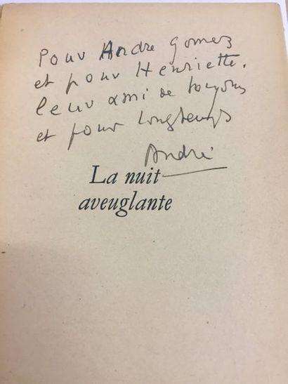 André de RICHAUD. La Nuit aveuglante (Paris,...