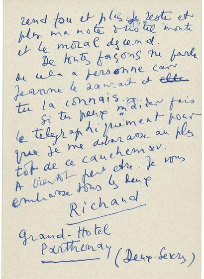 André de RICHAUD. Le Mauvais. TomeI, Les...