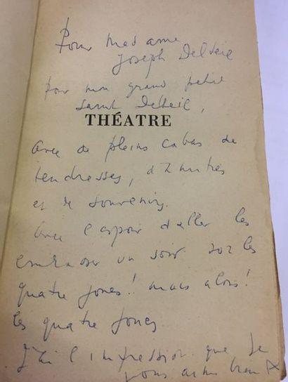 André de RICHAUD. Théâtre (Paris, Fasquelle,...