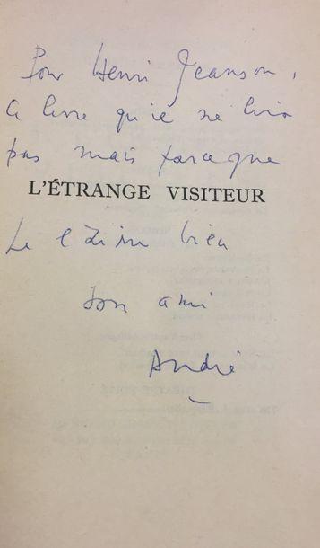André de RICHAUD. L'Étrange Visiteur (Paris,...
