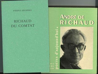 [André de RICHAUD]. Ensemble de 7 ouvrages...