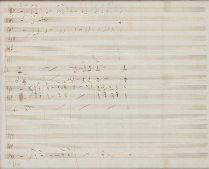 *Gaetano DONIZETTI (1797-1848). Manuscrit...