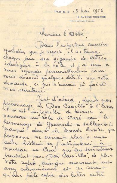 Fernand Contandin, dit FERNANDEL (1903-1971)....