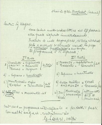 Giacomo LAURI-VOLPI (1892-1979) ténor italien....