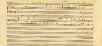 Franz LISZT (1811-1886). P.A.S. musicale;...