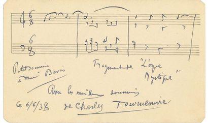MUSIQUE. 2 L.A.S. et 1 P.A.S. musicale Camille...