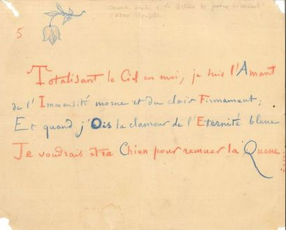 Camille SAINT-SAËNS (1835-1921). 14 L.A.S...