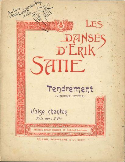 Erik SATIE. Les Danses d'Erik Satie. Tendrement...