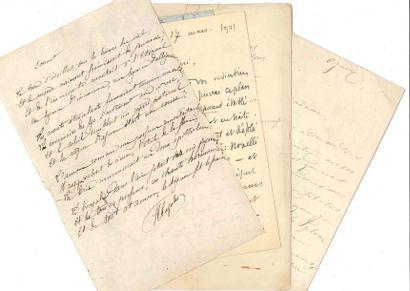 Henri CAZALIS, dit Jean LAHOR (1840-1909)...
