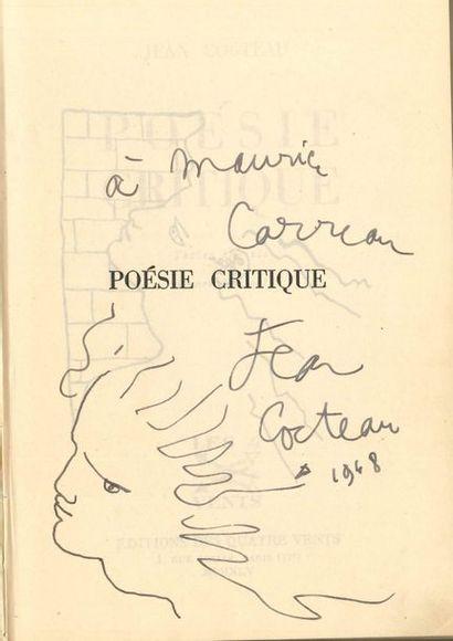 Jean COCTEAU. Poésie critique. Textes choisis...