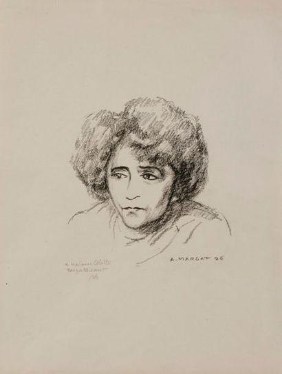 [COLETTE]. André MARGAT (1903-1997) peintre...
