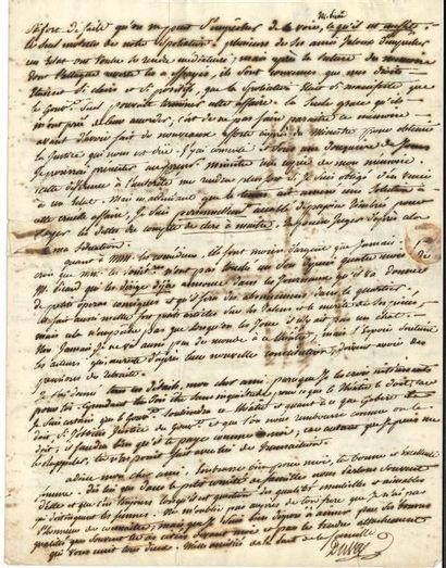 Alexandre DUVAL (1767-1842) auteur dramatique,...