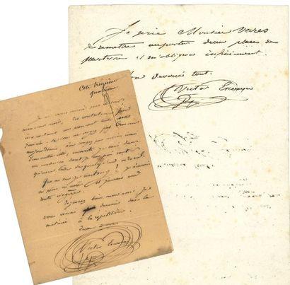 Victor escousse (1813-1833) auteur dramatique,...