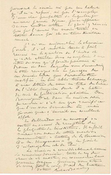 [Joris-Karl HUYSMANS]. Gustave boucher (1863-1932)...