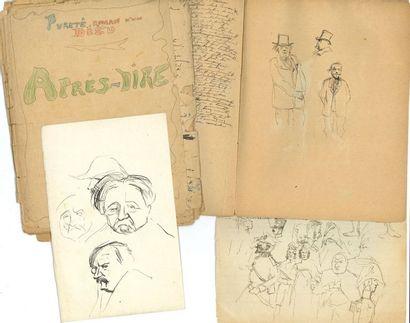 Ernest LA JEUNESSE (1874-1917). Environ 75...
