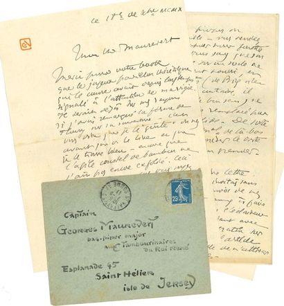 George AURIOL (1863-1938) dessinateur, chansonnier, écrivain, une des personnalités...