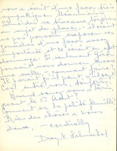 Day Thalberg dite Day SCHNABEL (1905-1991),...