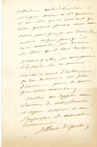 Jacques BOUCHER DE PERTHES (1788-1868) préhistorien....