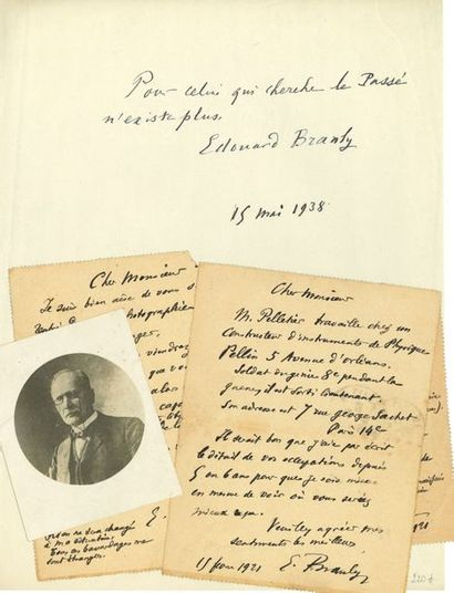 Édouard BRANLY (1844-1940) physicien. 3 L.A.S.,...