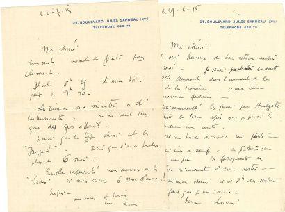 Louis BRÉGUET (1880-1955) ingénieur et pilote,...
