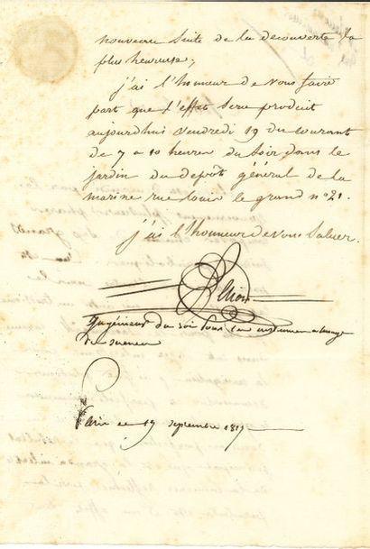 Étienne LENOIR (1744-1832) ingénieur, il...