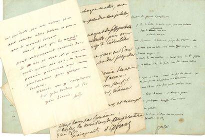 MEDECINE. 5 L.A.S. ou P.A.S., 1805-1864 et...