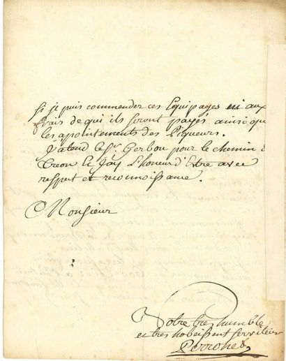 Jean-Rodolphe PERRONET (1708-1794) ingénieur...