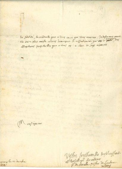 Pierre de BÉRULLE (1575-1629) homme d'Église...