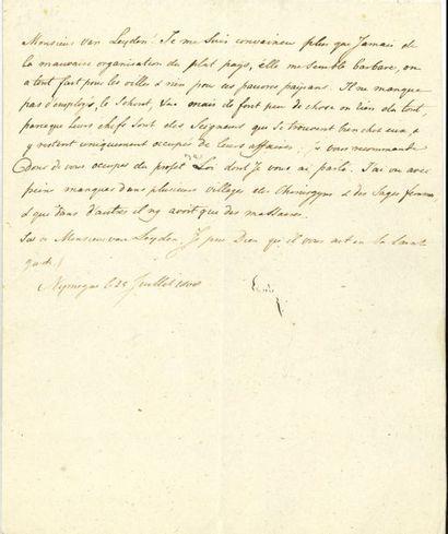 Louis BONAPARTE (1778-1848) frère de Napoléon,...