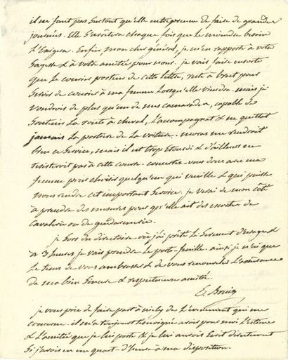 Eustache BRUIX (1759-1805) amiral, ministre...