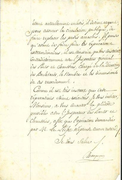 Jean-Baptiste Nompère de CHAMPAGNY, duc de...