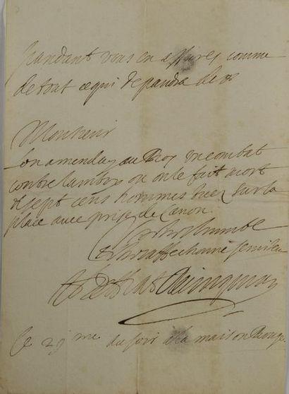 Henry Coiffier de Ruzé d'Effiat, marquis...
