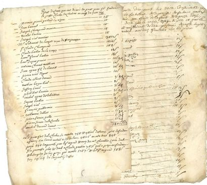 DAUPHINE. Environ 250 documents, XVIIe-XIXe...