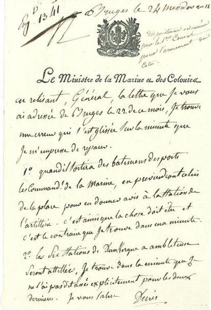 Denis, duc DECRèS (1761-1820) vice-amiral,...