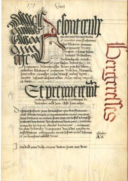 DIVERS. Plus de 25 lettres, pièces, manuscrits...