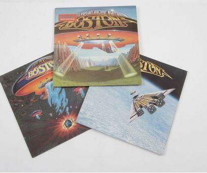 BOSTON Ensemble de 3 disques 33 T. 31 x 31...