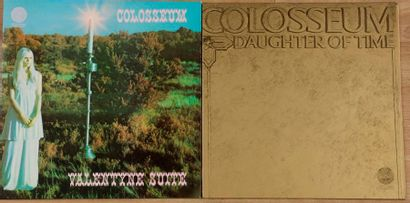 COLOSSEUM 2 disques 33 T :« Daughter of Time...