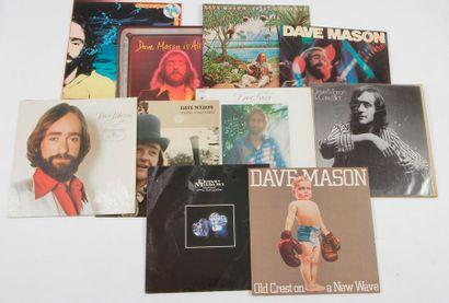 DAVE MASON Ensemble de 10 disques 33 T. 31...