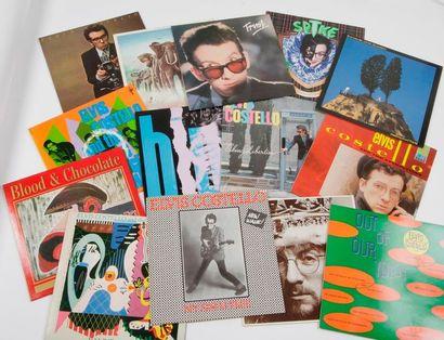 ELVIS COSTELLO Ensemble de 14 disques 33...