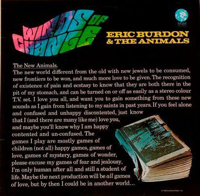 ERIC BURDON & THE ANIMALS « Winds of change...