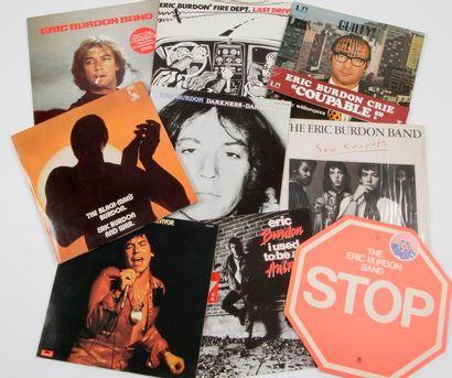 ERIC BURDON / WAR Ensemble de 15 disques...