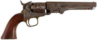 Revolver Colt Sherif, cinq coups, calibre 36. Finition vieillie. A.B.E. Reproduction,...