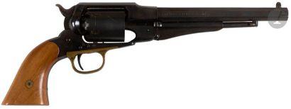 Revolver Remington modèle 1858 Army, six coups, calibre 44. Finition bronzée. B.E....